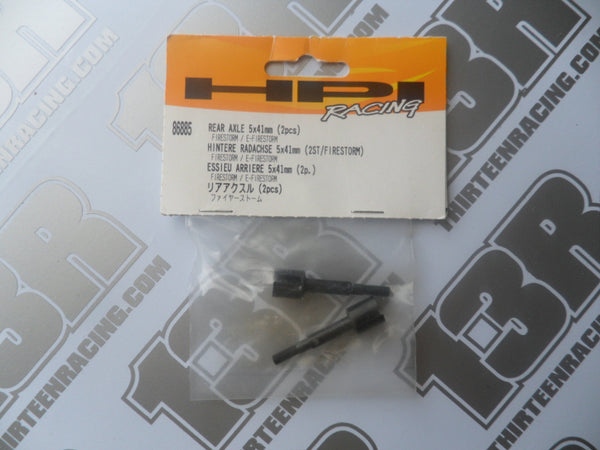 HPI Racing Firestorm Rear Axle 5 x 41mm (2pcs), # 86885, E-Firestorm