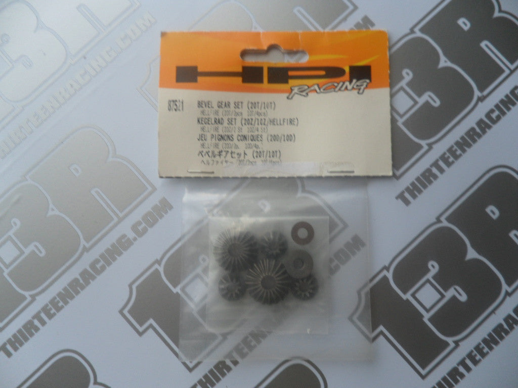 HPI Racing Hellfire Bevel Gear Set (20T/10T), # 87521