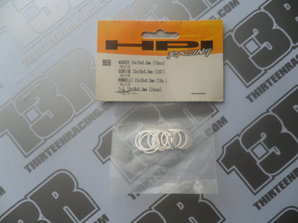 HPI Racing Hellfire Washer 13 x 16 x 0.2mm (10pcs), # 86598