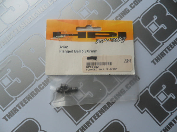 HPI Facing Flanged Ball 5.8 x 7mm (4pcs), # A132