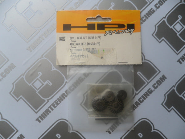 HPI Racing Savage 21 Bevel Gear Set (Gear Diff), # 86032