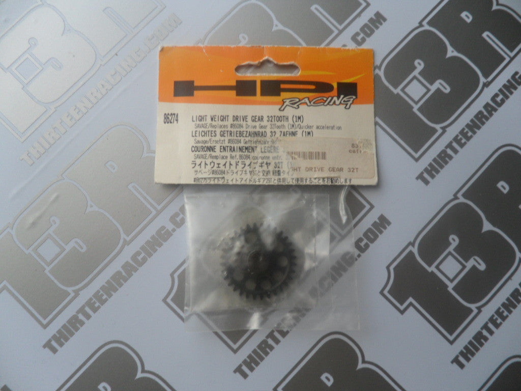 HPI Racing Savage 21 Lightweight Drive Gear, 32T (1M), # 86274