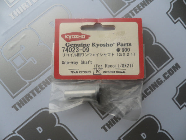 Kyosho GX21 One-Way Shaft For Recoil, # 74023-09, Inferno