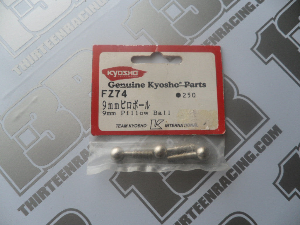 Kyosho 9mm Pillow Ball (3pcs), # FZ74 Or 97029, Super Ten, V One, FW05,