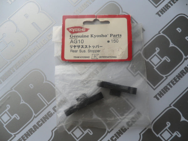 Kyosho Pure Ten Alpha Rear Suspension Stopper, # AG10