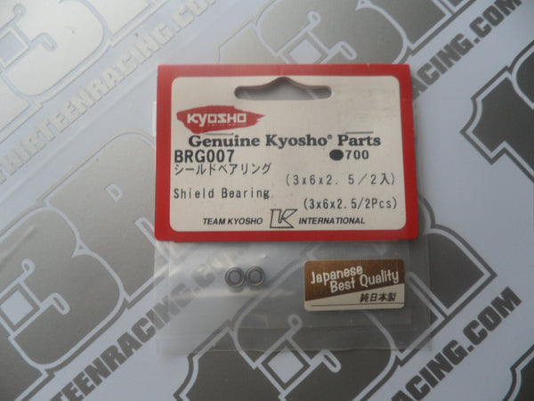 Kyosho Shielded Bearing 3 x 6 x 2.5mm (2pcs) # BRG007