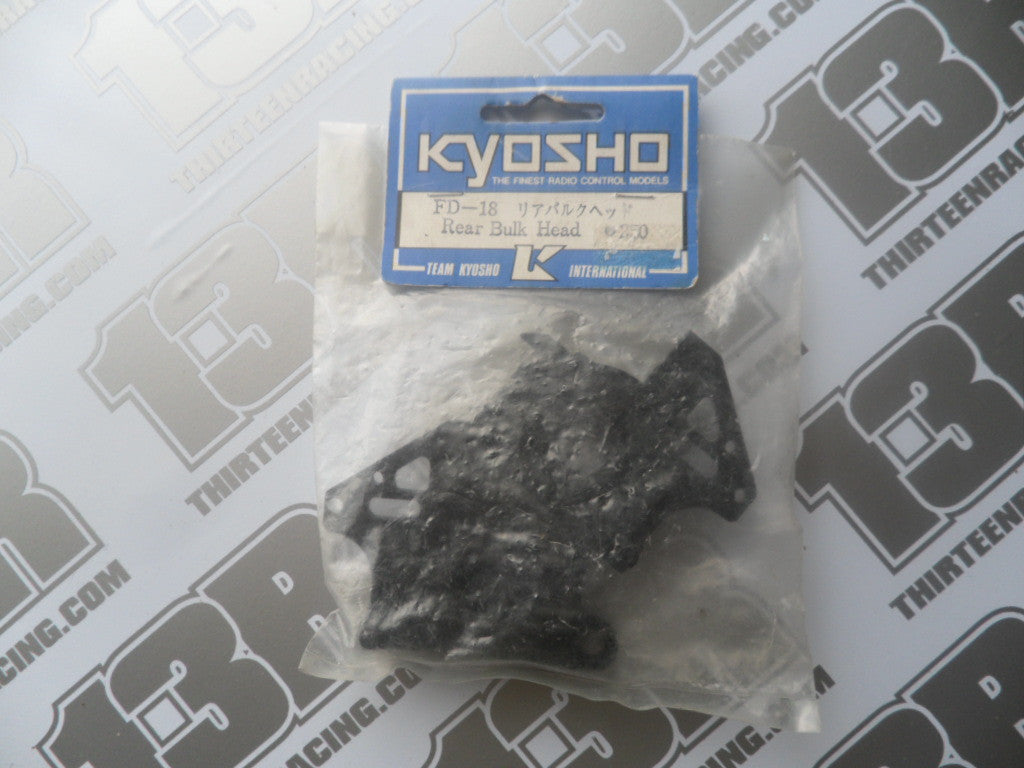 Kyosho Rear Bulkhead, # FD-18, RS200, Peugeot 405, Outlaw, Inferno