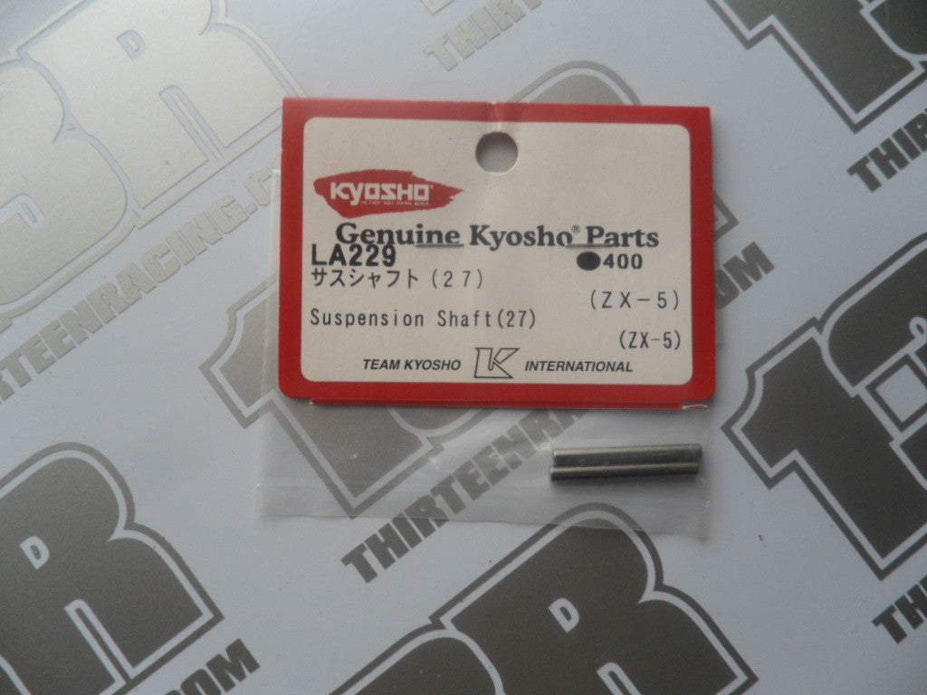 Kyosho 27mm Suspension Shafts/Hinge Pins (2pcs), LA229, ZX-5