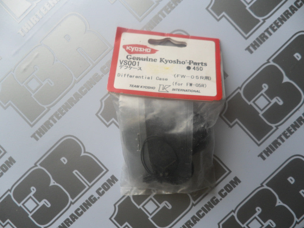 Kyosho FW-05R Differential Case, # VS001, Fazer EP/GP