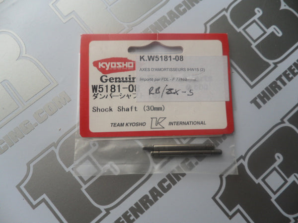 Kyosho Shock Shaft, 30mm (2pcs), # W5181-08, RB5, ZX-5