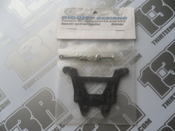 Kyosho RB5 Diggity Designs 4mm Carbon Fibre Rear Shock Tower, # RBDD-104
