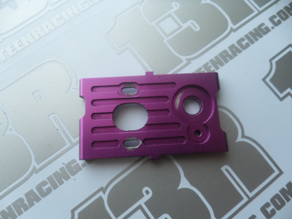 Schumacher Axis Purple Aluminium Motor Mount - Used, U2236E, Axis 2