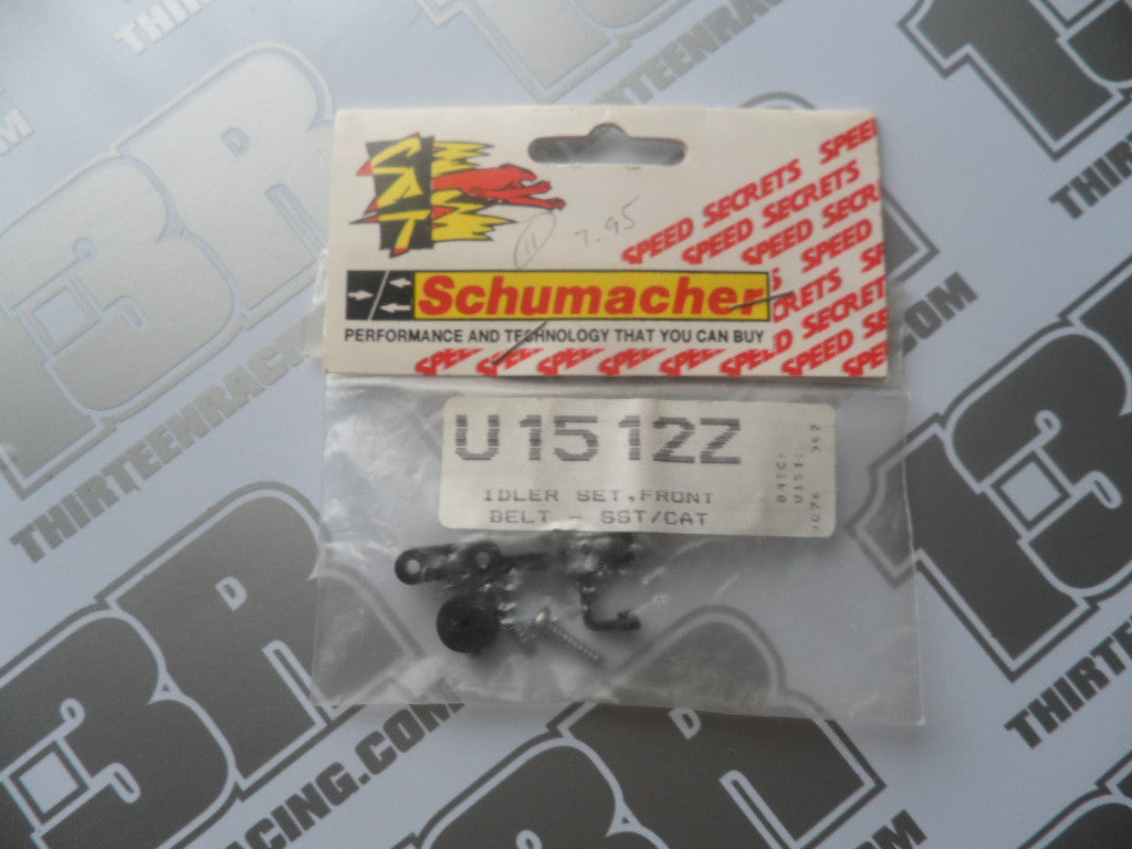 Schumacher CAT 2000/SST Front Belt Idler/Tensioner Set, U1512Z