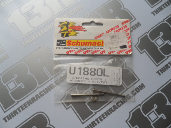 Schumacher CAT 2000/SST Steering Posts & Washer, U1880L, CAT 3000, SST 98