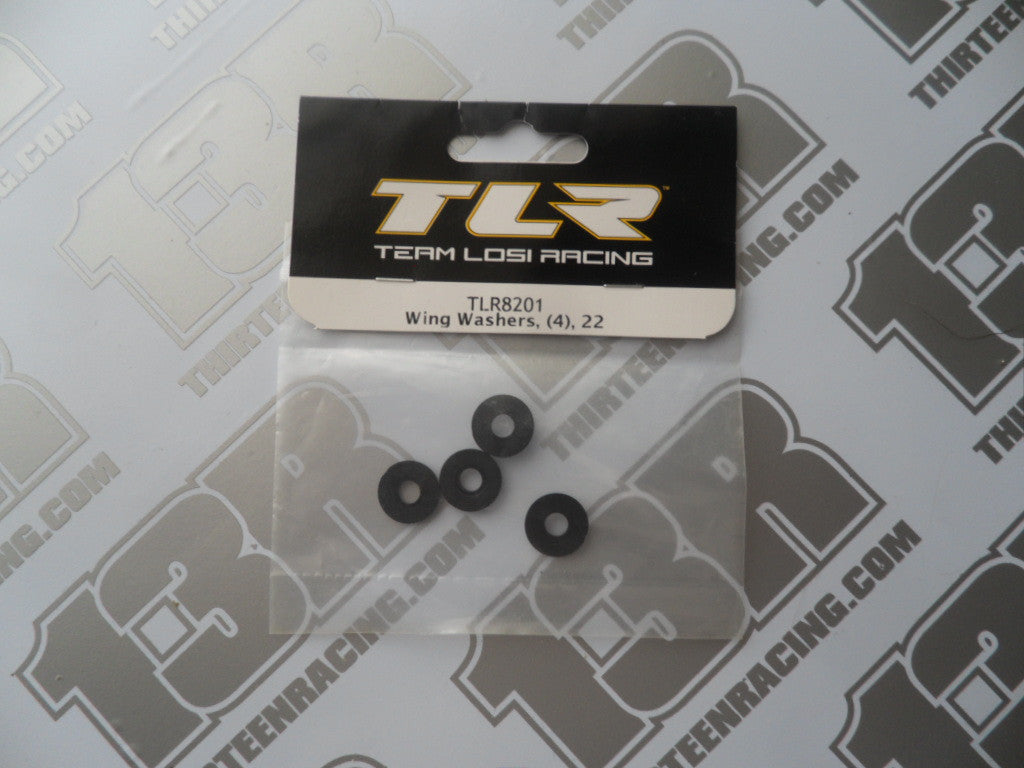 TLR 22 Wing Washers (4pcs), TLR8201, 2.0, 22T/2.0, 22-4