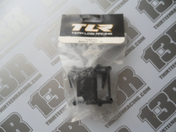 TLR 22 Battery Trays Set, TLR4154, 2.0, 22T, 22-SCT