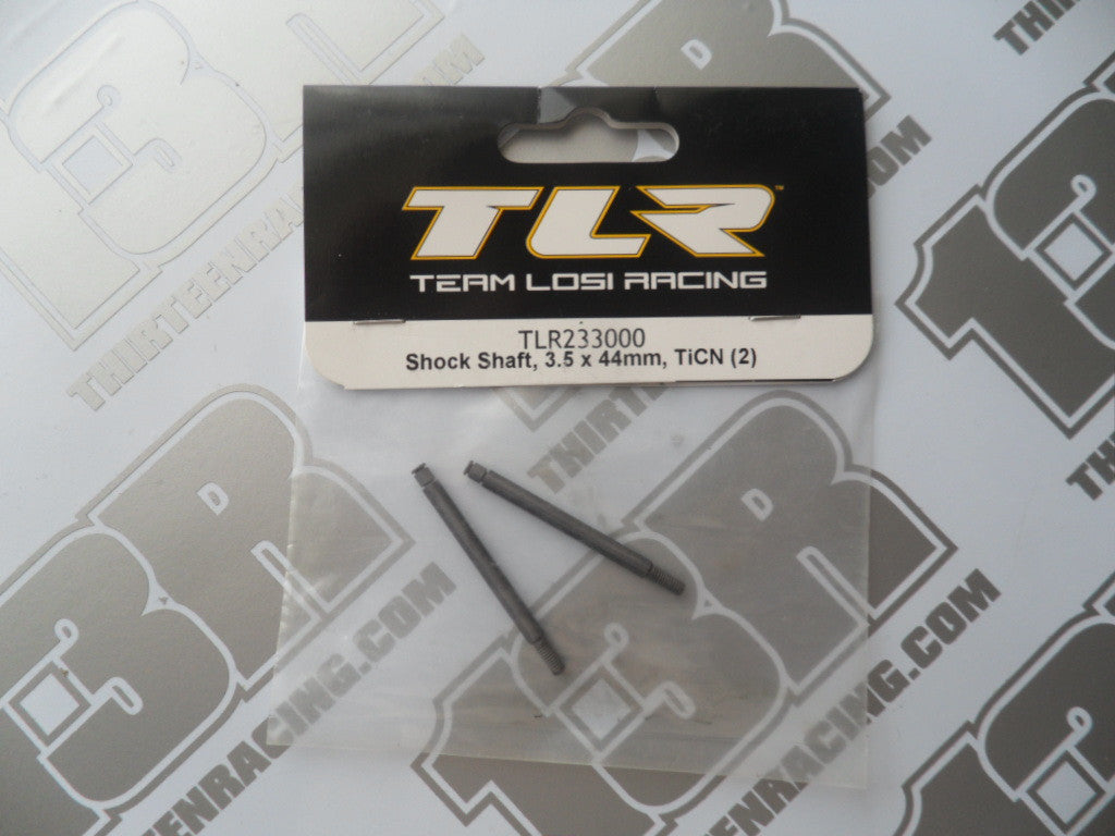 TLR TiCN Shock Shaft, 3.5 x 44mm (2pcs), TLR233000, 22 2.0/3.0, 22-4/2.0