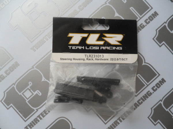 TLR 22 2.0 Steering Housing/Rack/Hardware Set, TLR231013, 22T 2.0, 22-SCT 2.0