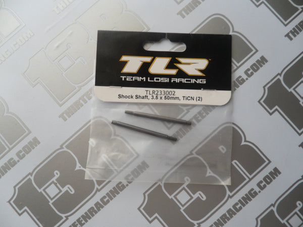 TLR TiCN Shock Shaft, 3.5 x 50mm (2pcs), TLR23302, 22 2.0/3.0, 22T 2.0, 22-SCT 2.0