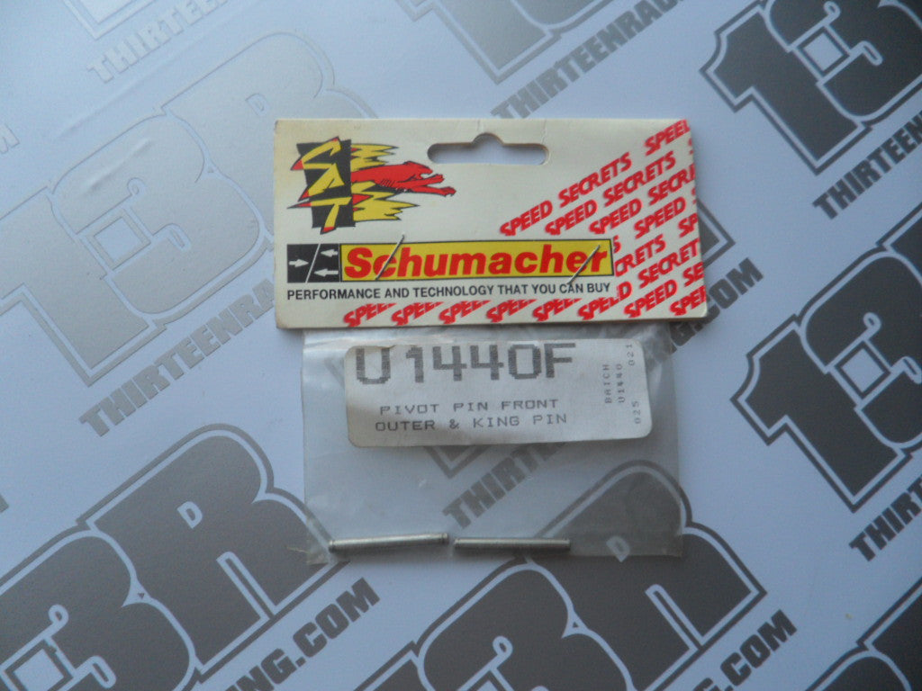 Schumacher CAT 2000 Front Outer Pivot Pins (2pcs), U1440F, EC/ECS/SE/98 CAT 3000