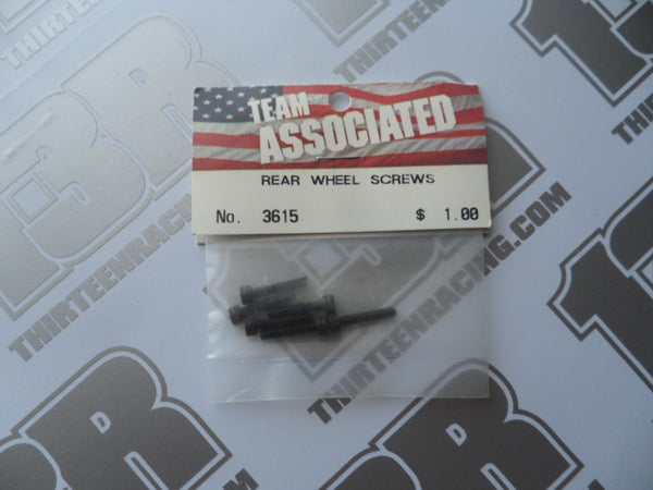 Team Associated Rear Wheel Screws (6pcs), # 3615