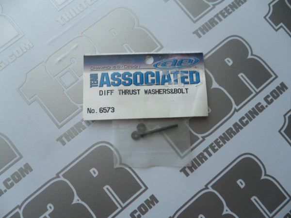 Team Associated Diff Thrust Washers & Bolt, # 6573, Various Models