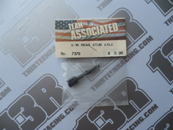 "Team Associated T3 3/16"" Rear Stub Axle, # 7378"