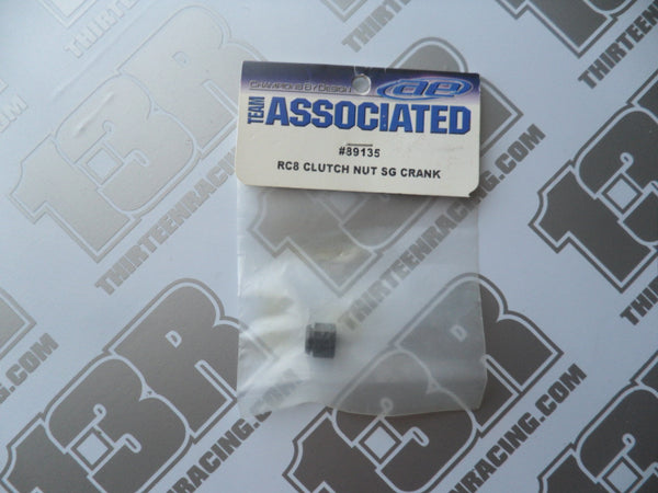 Team Associated RC8 Clutch Nut - SG Crank. # 89135, RC8.2, RC8T, SC8