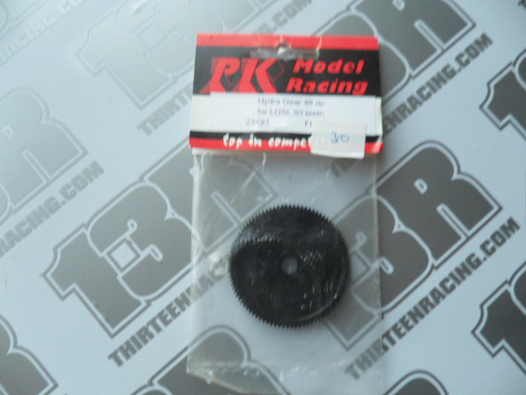 PK Model racing Hydra-Drive/Friction Slipper 93T Spur Gear (48dp), Losi JRX/XX/XXT