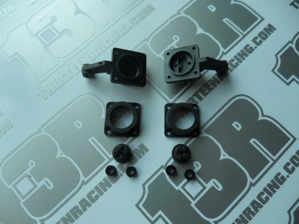 Schumacher 2WD Steering Blocks/Hubs/Spacers - NEW LOOSE, U904 From U774V, Cougar, Club 10, Nitro 10/21