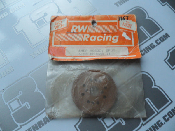 RW Racing Vintage Associated/Schumacher Tufnol 116T Slipper Spur Gear (64dp)