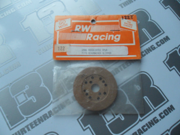 RW Racing Vintage Associated/Schumacher 122T Tufnol Slipper Spur Gear (64dp)