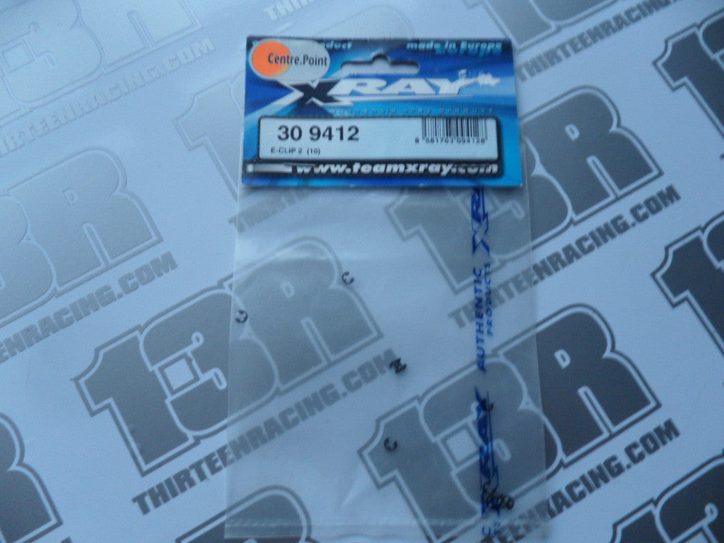 Team Xray T1 E-Clip 2 (10pcs), 309412