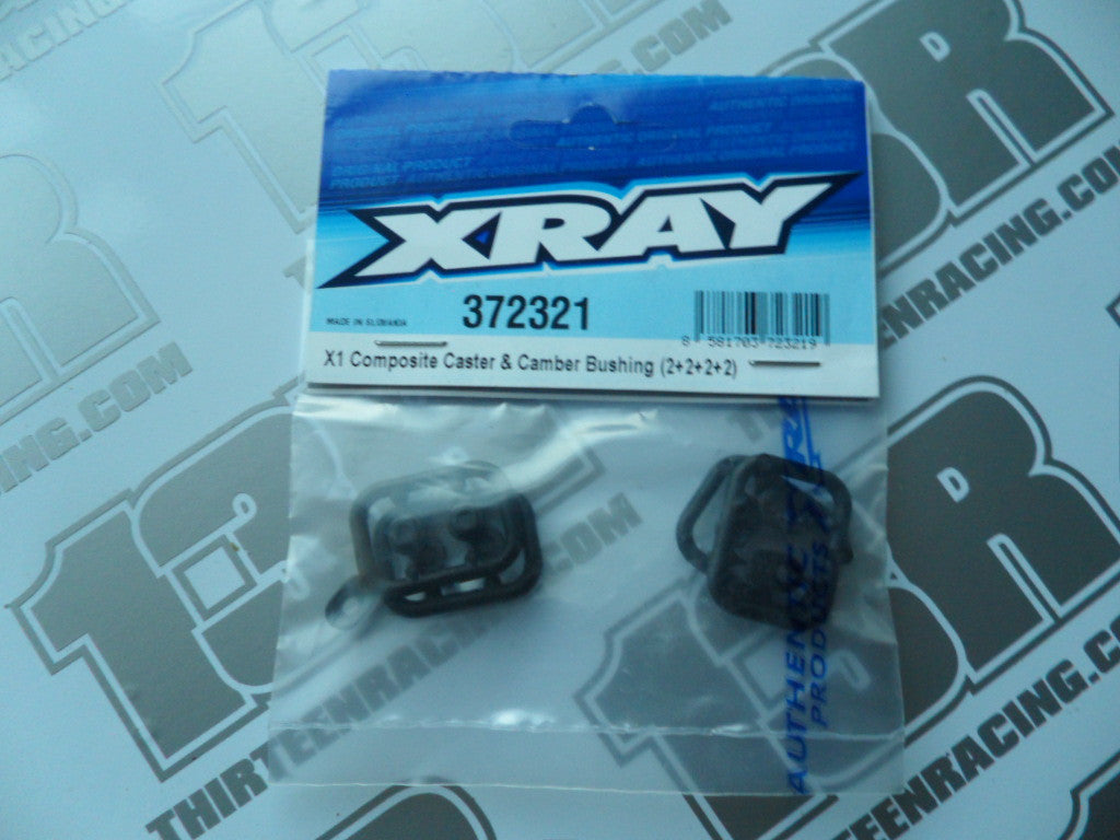Team Xray X1 Composite Caster & Camber Bushing (2+2+2+2), 372321