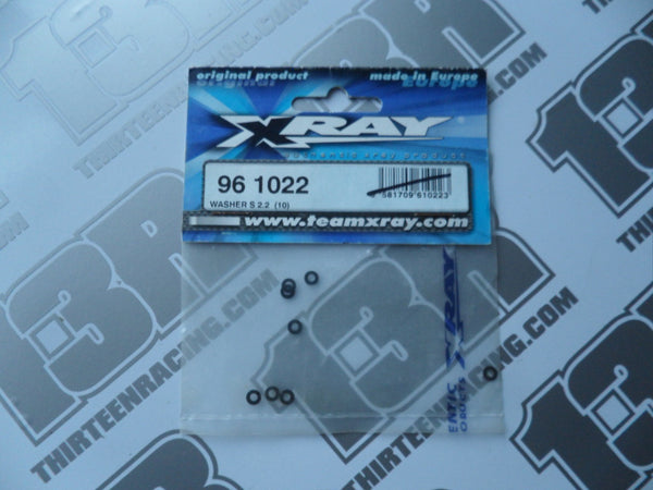 Team Xray Washer S 2.2 (10pcs), 961022, M18, NT18, XB8, XT8, XB9, XT9