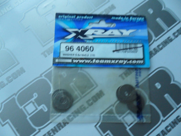 Team Xray Washer S 6x18x0.2mm (10pcs), 964060, XB8, XB9, XT8, XT9, XB808