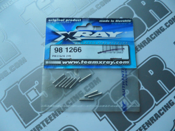 Team Xray XB8 Pin 2.5 x 16mm (10pcs), 981266, XT8