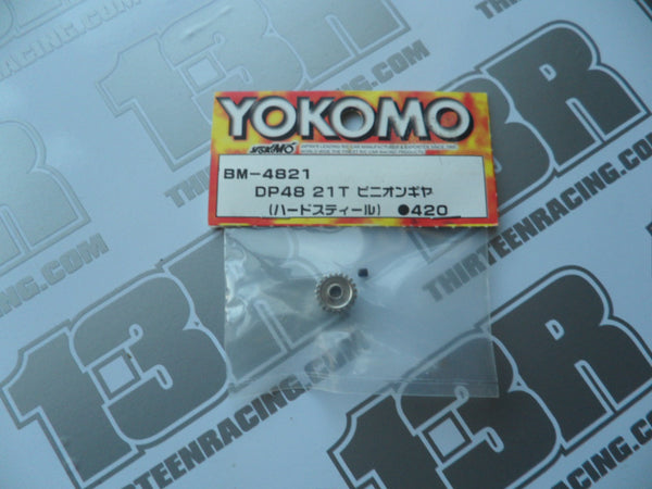 Yokomo 21T 48dp Pinion Gear, BM-4821