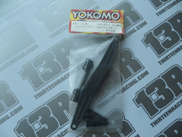 Yokomo MR-4TC SD Battery Posts & Strap Set, SD-118
