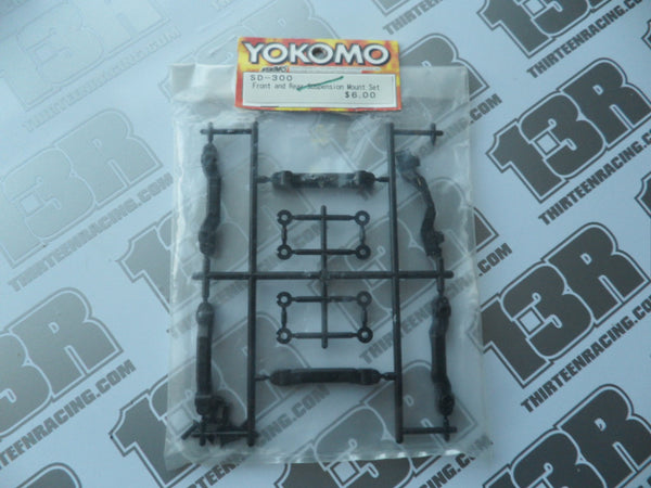 Yokomo MR-4TC SD Front & Rear Suspension Mount Set, SD-300