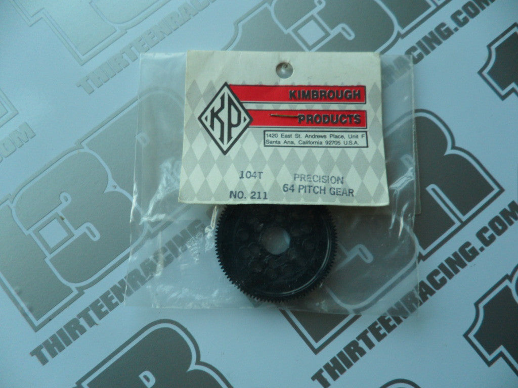Kimbrough 104T 64dp Precision Spur Gear, No. 211