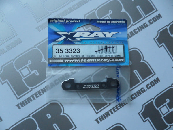Team Xray XB8 Alu TQ Rear Lower Susp. Holder Rear - 7075 T6 (5mm), 353323, XT8