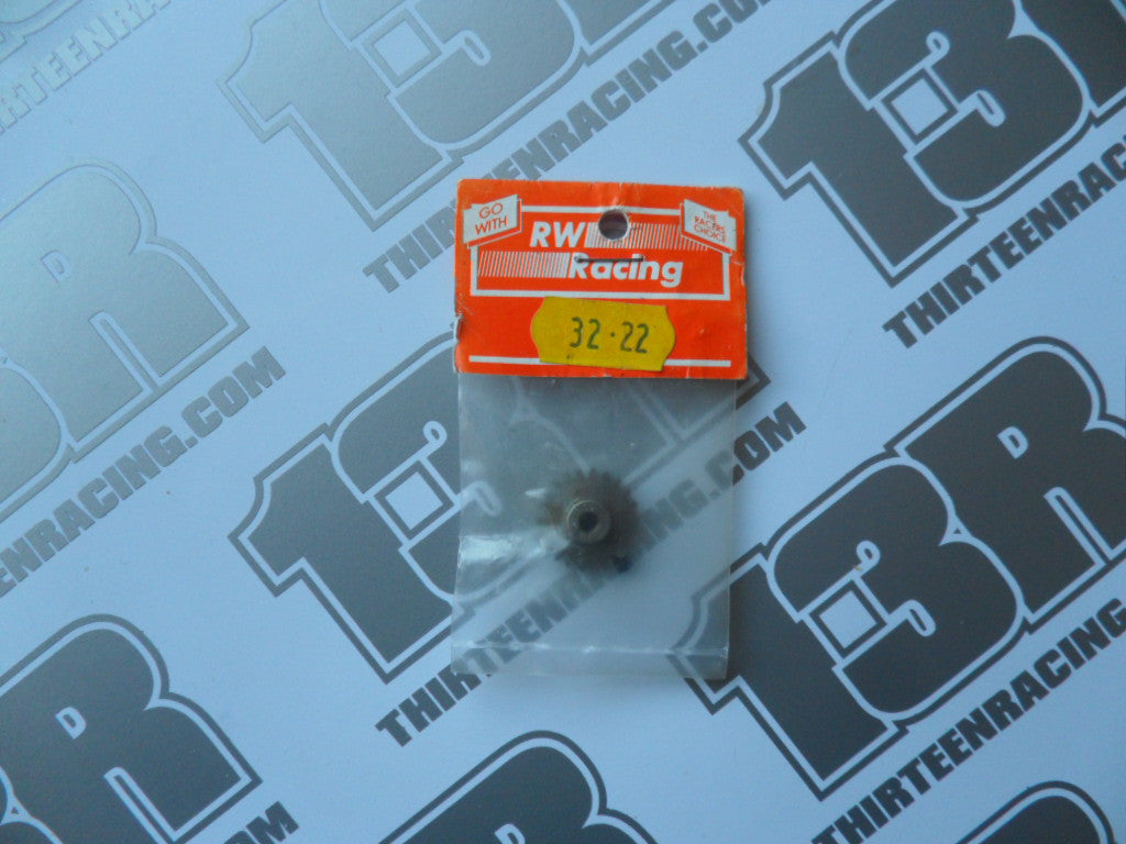 RW Racing 22T 32dp Pinion Gear, 3mm Bore