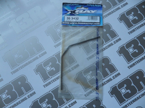 Team Xray XB8 Rear Anti Roll Bar 3.2mm, 353432, XT8, XT9