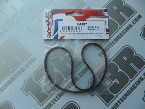 Schumacher CAT K1/Aero Front Bando Drive Belt 4mm x 132T, U4187