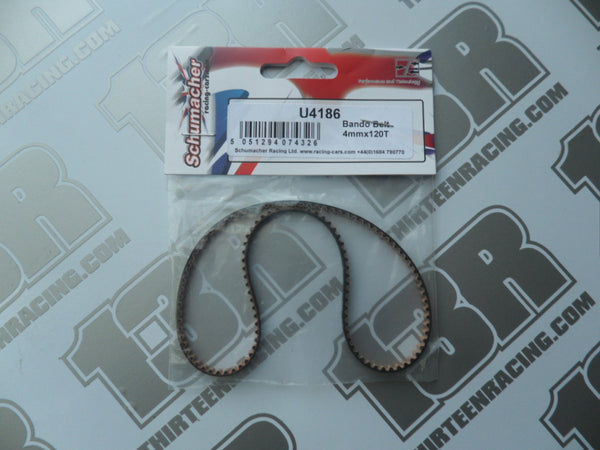 Schumacher CAT K1/Aero Rear Bando Drive Belt 4mm x 120T, U4186