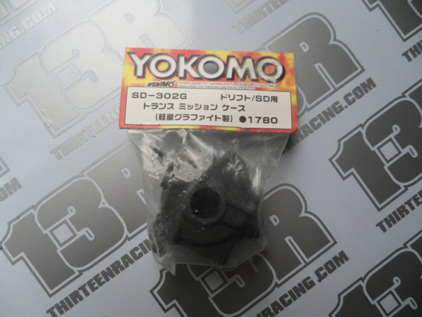 Yokomo MR-4 TC SD Graphite Front Or Rear Transmission Case, SD-302G