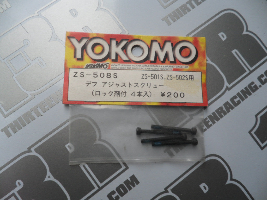 Yokomo MR-4 Diff Adjustment Screw (4pcs), ZS-508S