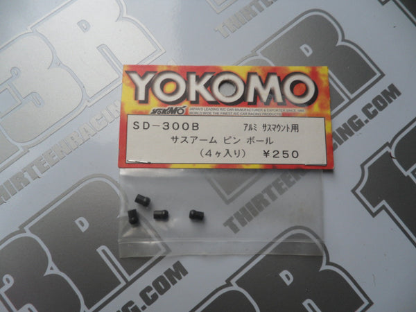 Yokomo MR-4 TC SD/BD Suspension Mount Balls (4pcs), SD-300B