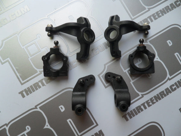 Team Losi Street Weapon Spindles/Carriers & Rear Hub Carriers - Used, XX4